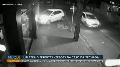 """Acusado de agredir e 'fechar"""" ex-namorada no trânsito vai a júri popular em Maringá - Réu responde ainda por cárcere privado e constrangimento mediante violência e grave ameaça."""