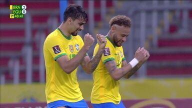 Os gols de Brasil 2 x 0 Equador pela sétima rodada das Eliminatórias da Copa - Os gols de Brasil 2 x 0 Equador pela sétima rodada das Eliminatórias da Copa