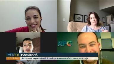 PodParaná: Alessandra Maestrini fala como foi montar o personagem Bozena - A empregada doméstica de Pato Branco que no seriado Toma lá dá cá, da Rede Globo, ganhou o coração dos brasileiros.