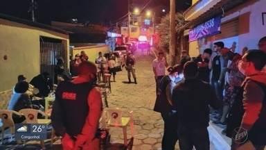 Aglomerações em festas são registradas durante o fim de semana no Sul de Minas - Aglomerações são registradas no Sul de Minas; 50 pessoas testam positivo para Covid-19 após festa em Alfenas