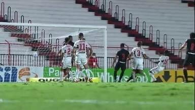 São Paulo perde para Atlético-GO no Brasileiro - São Paulo perde para Atlético-GO no Brasileiro