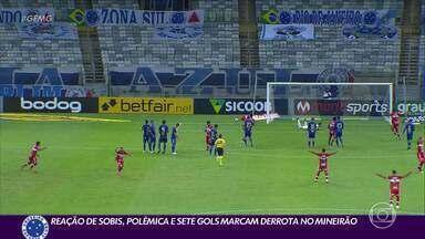 Reação de Rafael Sóbis, polêmicas e sete gols marcam derrota do Cruzeiro para o CRB - Reação de Rafael Sóbis, polêmicas e sete gols marcam derrota do Cruzeiro para o CRB