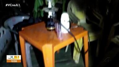 Festa com centenas de pessoas, bebidas e drogas é encerrada pela Polícia em Altamira - Festa com centenas de pessoas, bebidas e drogas é encerrada pela Polícia em Altamira.