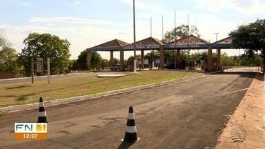 Espaços turísticos são fechados para conter o avanço da Covid-19 em Presidente Epitácio - Esse foi o primeiro fim de semana com a proibição.