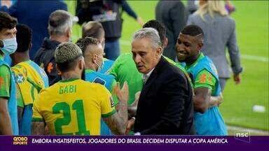Amanhã o Brasil enfrenta o Paraguai pelas Eliminatórias - Amanhã o Brasil enfrenta o Paraguai pelas Eliminatórias