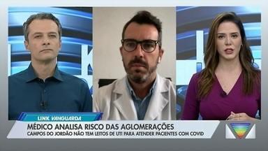 Médico explica quais os riscos de aglomerações - Confira a reportagem exibida pelo Link Vanguarda.