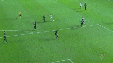 Santos conquista a primeira vitória no Campeonato Brasileiro contra o Ceará - Partida encerrou com placar de 3 a 1.
