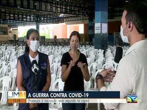 São Luís prossegue com imunização contra Covid-19 - Campanha de vacinação na capital.