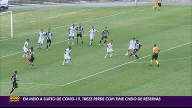 Treze é derrotado por 1 a 0 para o ABC, em sua estreia na Série D do Brasileiro - Único gol da partida foi marcado por Wallyson, de pênalti