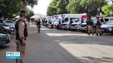 PM lança operação para combater crimes violentos no Norte de MG - Ação também tem objetivo de coibir festas clandestinas.