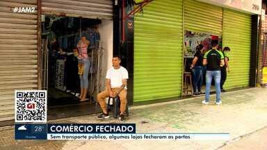 Violência em Manaus fecha lojas do comércio - Violência em Manaus fecha lojas do comércio