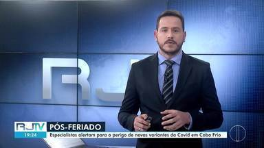 Íntegra do RJ2 desta segunda-feira, 07/06/2021 - Apresentado por Alexandre Kapiche, telejornal traz os principais destaques do dia nas cidades das regiões dos Lagos, Serrana e Noroeste Fluminense.