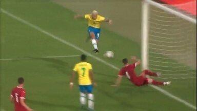 Caio Ribeiro comenta vitória da Seleção Olímpica - Caio Ribeiro comenta vitória da Seleção Olímpica