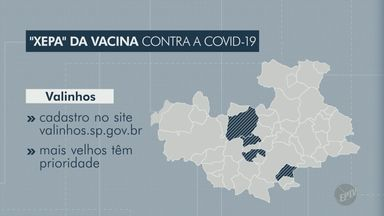 Cidades da região de Campinas abrem cadastro para vacinação com doses sobrantes; entenda - Após o uso dos frascos das vacinas, as doses que sobram no fim do dia são oferecidas a moradores que consigam chegar rapidamente aos locais de aplicação.