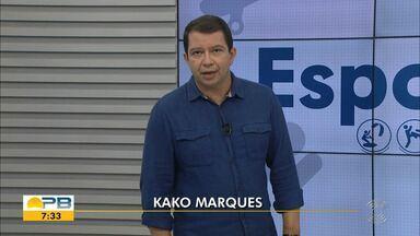 Kako Marques traz as notícias do esporte no Bom Dia Paraíba desta quinta-feira (10.06.21) - Confira os principais destaques do esporte paraibano