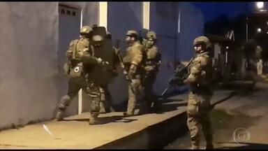 PF desarticula braço de facção criminosa no Maranhão e Piauí, em operação contra tráfico de armas e drogas - Agentes cumpriram 14 mandados de prisão.