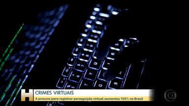 A procura para registrar perseguição virtual aumentou 105% no Brasil - Lei mais rígida, na avaliação de especialistas, não siginifca necessariamente mais segurança no mundo virtual.