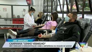 Banco de Sangue tem campanha de conscientização sobre doação em São José dos Campos - Confira a reportagem exibida pelo Link Vanguarda.
