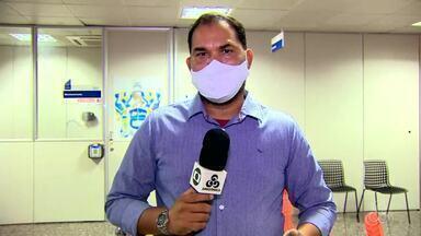 Governo de RO concede entrevista coletiva sobre reajuste salarial a policiais militares - Entrevista foi dada no Palácio Rio Madeira.