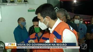 Governador do Estado visita municípios da região oeste do Pará - Governador do Estado visita municípios da região oeste do Pará.