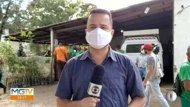 Profissionais da limpeza urbana serão vacinados contra a Covid-19 em Caratinga - Saiba mais.
