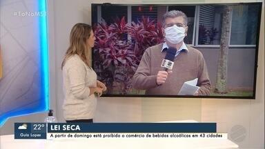Campo Grande vai cumprir novo decreto a partir de domingo (13) - Capital recebeu classificação de bandeira cinza no prosseguir