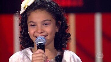 Luna Mattos canta 'A Lenda' - Confira a avaliação dos técnicos