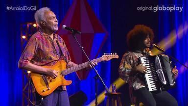Gilberto Gil canta 'A Volta da Asa Branca', 'São João Xangô Menino' e 'Madalena' - Confira!