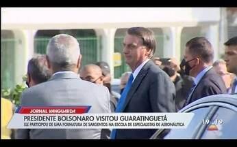 Presidente Bolsonaro visita Guaratinguetá - Confira a reportagem exibida pelo Jornal Vanguarda.