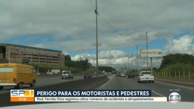 Número de mortes no trânsito segue alto durante a pandemia na cidade de SP - Dados foram divulgados pela CET