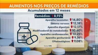 Remédios ficaram 8,93% mais caros em São Paulo, no acumulado de 12 meses - Maioria dos insumos é importada, o que faz os preços ficarem ainda mais sensíveis à pandemia e ao câmbio