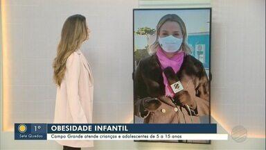 Obesidade infantil: Campo Grande atende crianças e adolescentes de até 15 anos - Obesidade infantil: Campo Grande atende crianças e adolescentes de até 15 anos.