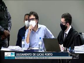 Peritos são ouvidos no 1º dia do Tribunal do Júri de Lucas Porto - Julgamento ocorre após dois adiamentos.