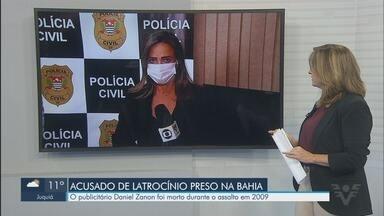 Acusado de matar publicitário durante assalto em 2009, em Guarujá, é preso na Bahia - Publicitário Daniel Zanon foi morto durante o assalto.