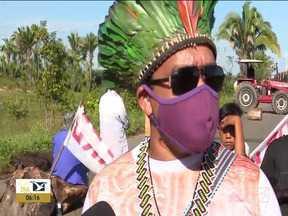 Indígenas voltam a protestar e bloqueiam rodovias - Confira os destaques do Bom Dia Mirante desta quinta-feira (1°).