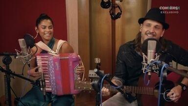Lucy Alves e Tato da Falamansa cantam 'Asas' - Confira