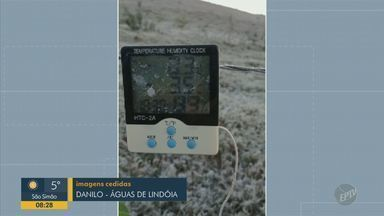 Telespectadores enviam registros do frio na região de Campinas - Participe através da #BDC no Twitter ou do WhatsApp da EPTV.