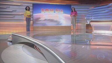 Bom dia Brasil - Edição de 01/07/2021 - O telejornal, com apresentação de Chico Pinheiro e Ana Paula Araújo, exibe as primeiras notícias do dia no Brasil e no mundo e repercute os fatos mais relevantes.