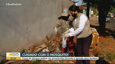 Rio Verde registra menor temperatura do estado - Clima frio deve seguir em várias partes do Estado nos próximos dias.