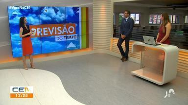 Previsão do Tempo para esta quinta (01) com Camila Marcelo - Saiba mais em g1.com.br/ce
