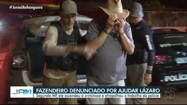 MP denuncia fazendeiro por ajudar fuga de Lázaro Barbosa em Goiás - Ele também foi denunciado por posse irregular de arma de fogo.