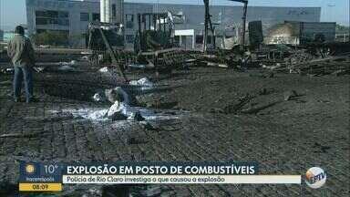 Impactos da explosão de caminhão geram prejuízos a moradores de Rio Claro - Uma pessoa morreu e 20 ficaram feridas. Outros moradores nas imediações de posto de combustíveis tiveram prejuízos em bens materiais pelo impacto da explosão.