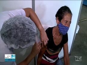 Maranhão recebe mais 137 mil doses de vacinas da Pfizer e AstraZeneca - Em São Luís, atualmente, só há aplicação da 2ª dose da vacina.