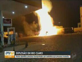 Polícia identifica produtos transportados pelo caminhão que provocou incêndio em Rio Claro - Após 3 dias da explosão no posto de combustível investigações identificam pontos importantes sobre o acidente.