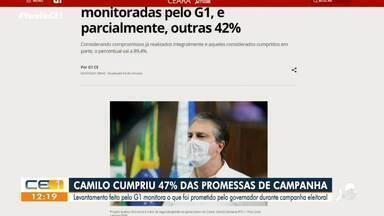 Os destaques do G1 Ceará com Gioras Xerez - Saiba mais em: g1.com.br/ce