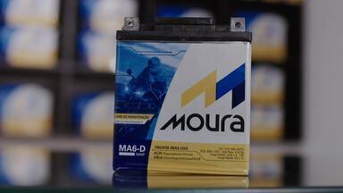 Baterias para Moto - Novo bateria com elementos que aumentam a durabilidade e mais rapidez na carga