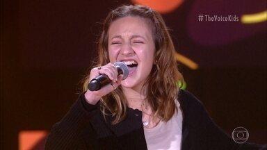 Helena Bemelmans canta 'O Pato' - Confira a avaliação dos técnicos!