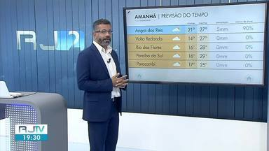Confira a previsão do tempo para esta sexta-feira na região - Segundo meteorologia, frente fria se aproxima do Sul e Costa Verde do Rio.