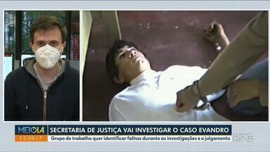 Caso Evandro será investigado pela Secretaria de Justiça - Grupo de trabalho quer identificar falhas na investigação.