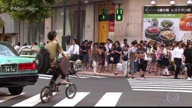 Serginho fala sobre Tóquio - Walcyr Carrasco já deu dicas de viagem para Serginho